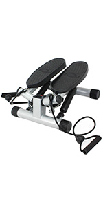 Sunny Health & Fitness Twisting Stair Stepper with Bands No. 068