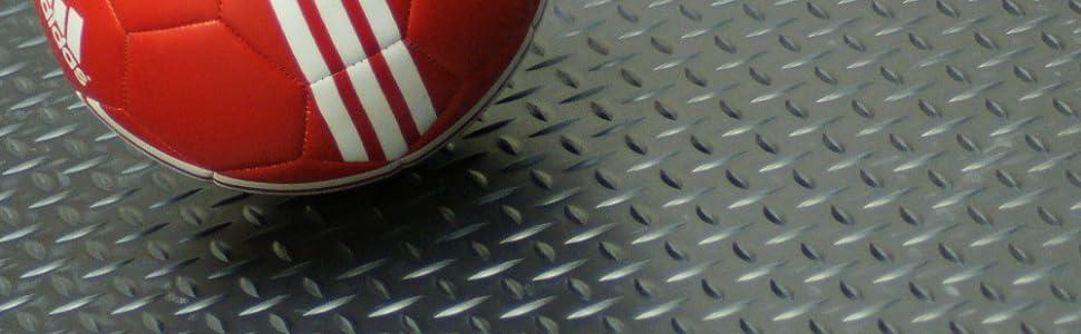 Goodyear Diamond-Plate Rubber Flooring