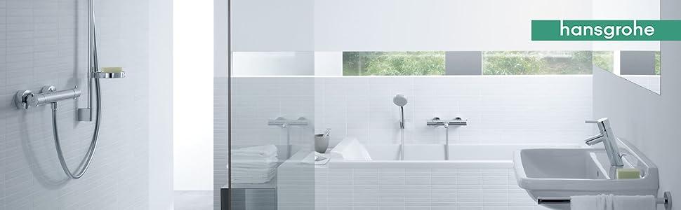 Hansgrohe 13211000 Ecostat 1001 CL termostato de ducha visto ...