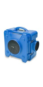 industrial commercial air scrubber scrubbers negative machine machines purifier hepa drieaz phoenix