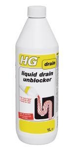 hg liquid drain unblocker 1l unblocks your drain within. Black Bedroom Furniture Sets. Home Design Ideas