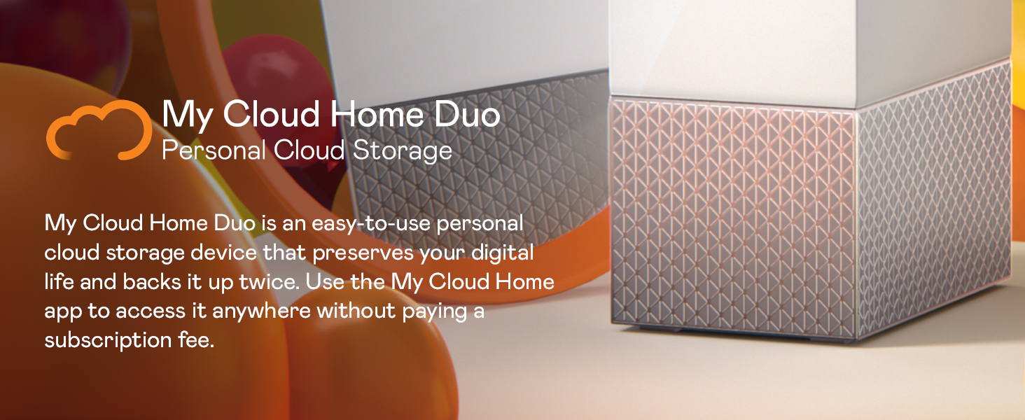 My Cloud Home Duo