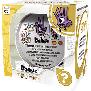 Dobble, Dobble Harry Potter, Asmodee, Zygomatic, Juego de Cartas, Fun Fast Games