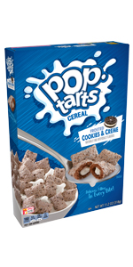 Pop-Tarts Cereal Frosted Cookies & Creme