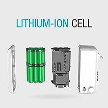 scheme of a battery back