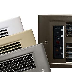 Wall Heater forced air indoor heat indoor use thermostat volt watt transfer grill