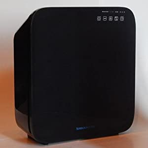 multi tech 8500 surround air purifier cleaner ionic filter hepa ionizer