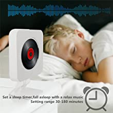 CD player with sleep timer