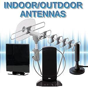 QFX Indoor Outdoor TV HD Antenna Digital