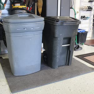 Floor Protector, Garbage Cans