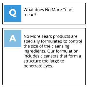 What does no more tears mean