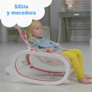 Fisher-Price Hamaca crece conmigo selva, hamaca bebé recién nacido (Mattel FMN40)