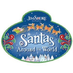 Jim Shore Heartwood Creek Santas Around the World Logo