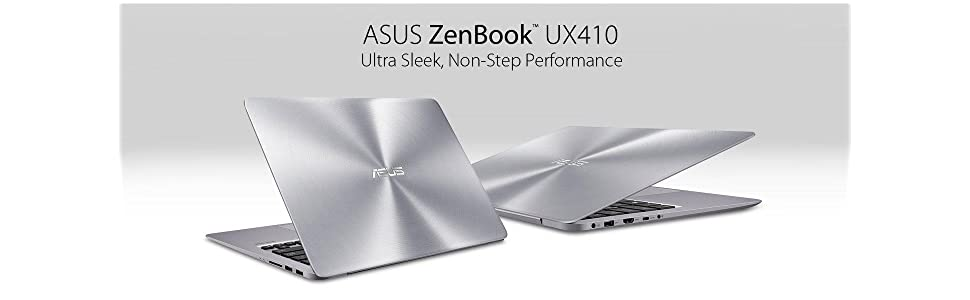 asus zenbook ux410ua gv350t 14 inch full hd nano edge screen laptop