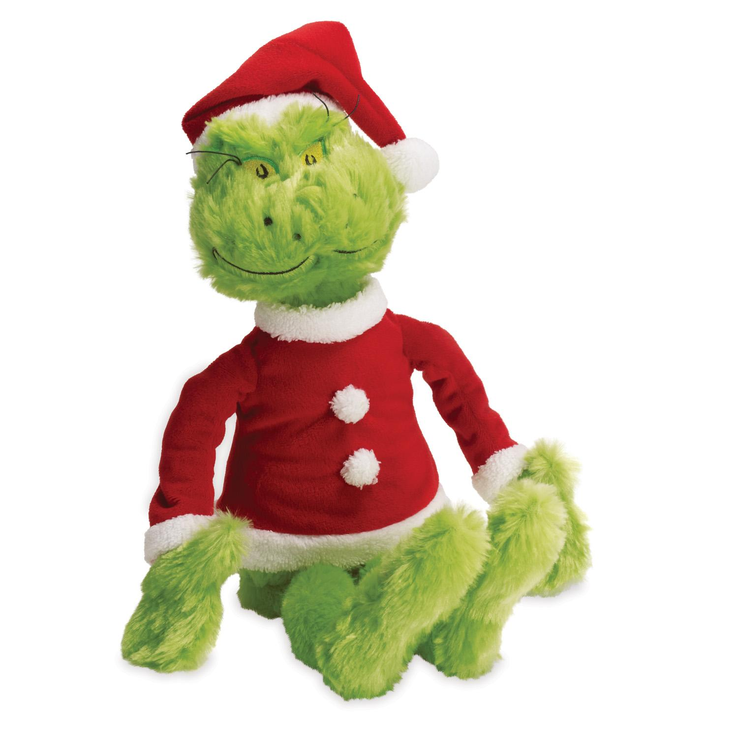Amazon Manhattan Toy Dr Seuss The Grinch in Santa Suit Soft