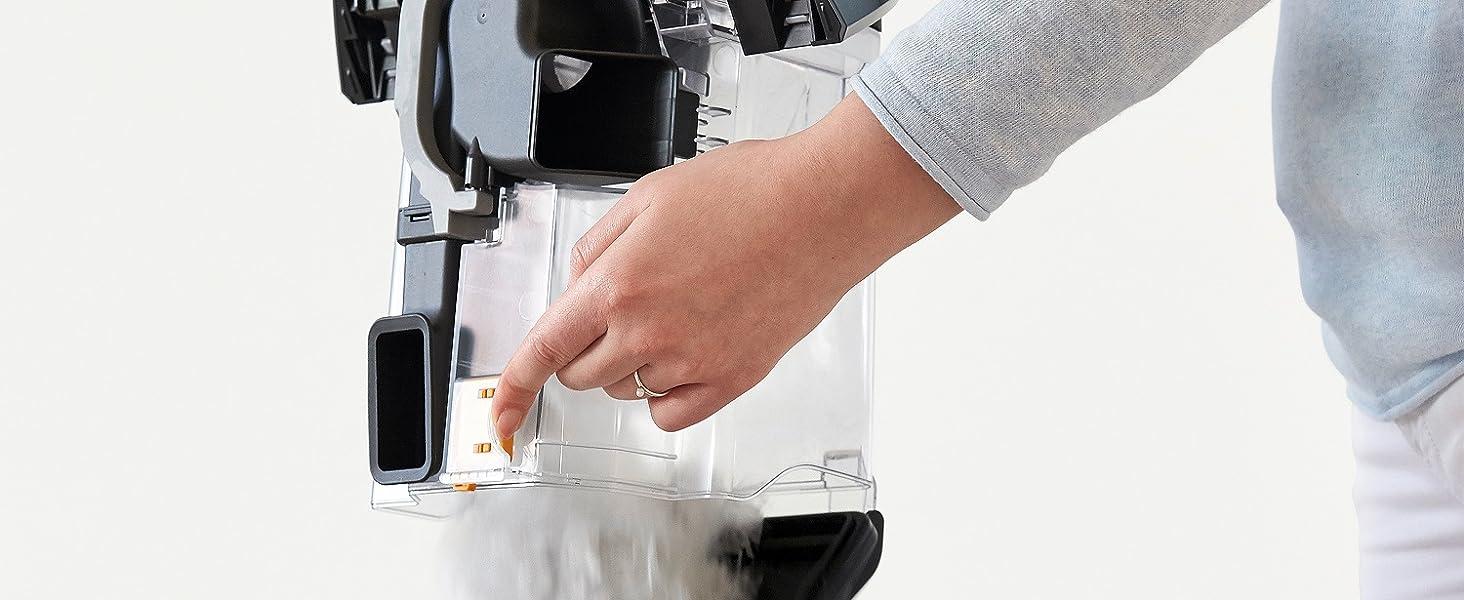 Miele Vacuum Hygienic emptying