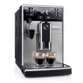 saeco hd8924 47 picobaristo automatic milk frother espresso machine stainless steel. Black Bedroom Furniture Sets. Home Design Ideas