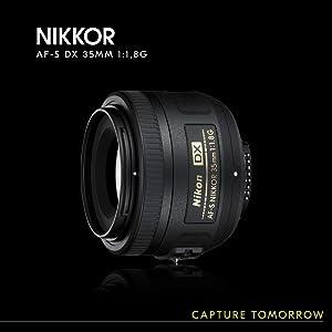 Nikon Af S Dx Nikkor 35 Mm 1 1 8 G Lens 52 Mm Filter Camera Photo