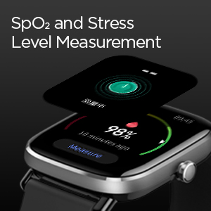 SpO2 and Stress Level Measurement