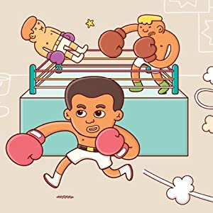 Soon, Cassius was learning how to box. He was not the strongest fighter,