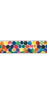 CD-108063 * THE VERY HUNGRY CATERPILLAR STRAIGHT BORDER