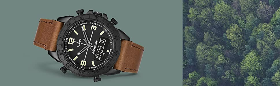 Expedition Analog-Digital Combination Watch