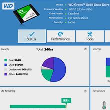 Western Digital 240GB WD Green Internal PC SSD online shopping in Kuwait