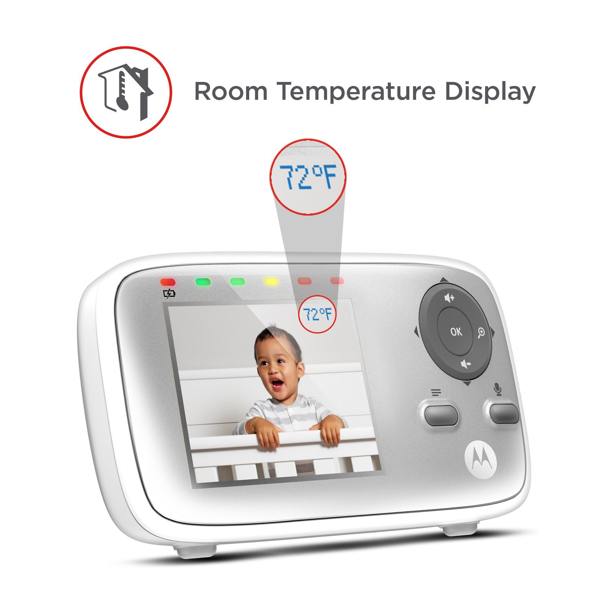 motorola mbp483 digital video monitor baby. Black Bedroom Furniture Sets. Home Design Ideas