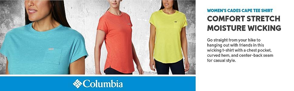 Columbia Women's Cades Cape Tee Shirt
