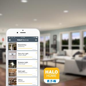 Halo Home,Smart Lighting System,Bluetooth,Blutooth,Home Automation,Recessed LED