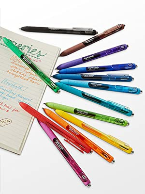 retractable pens on surface