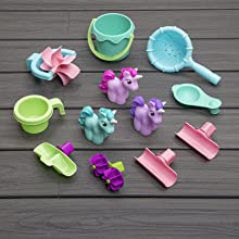 accessories included in rainshowers and unicorn water table