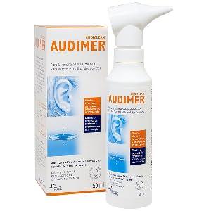 Audimer Spray Higiene Habitual del Oído Elimina Exceso de Cera y Previene la Acumulación de Cerumen Apto Uso Diario, 60 ml: Amazon.es: Salud y cuidado personal