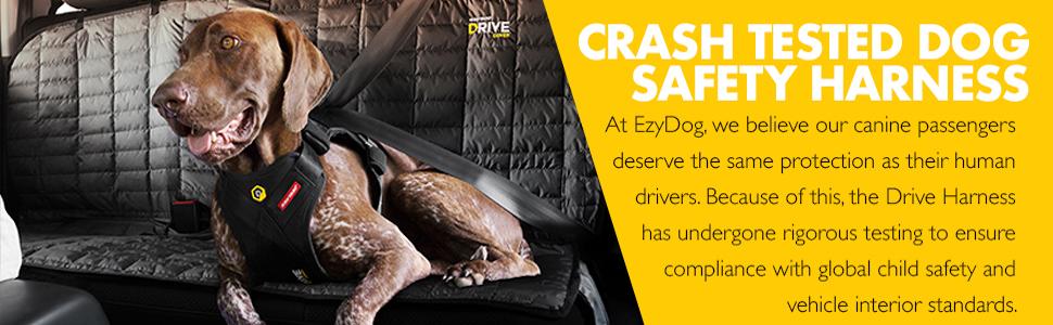 EzyDog Drive Crash Tested Car Harness