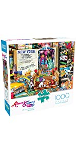 Life Is an Open Book - New York - 1000 Piece Jigsaw Puzzle