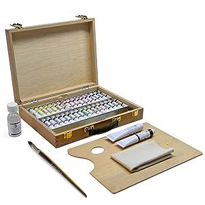 Caja de Bellas Artes con surtido 00 fabricada por Lienzos Levante, surtido 00