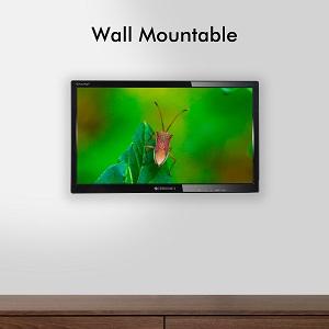 Wall mountable