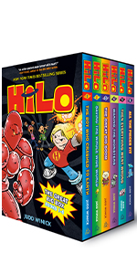 graphic novels, kids books ages 9-12, superheroes, funny gifts, superhero books, comic books for boy