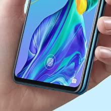 huawei p30 in-screen fingerprint unlock