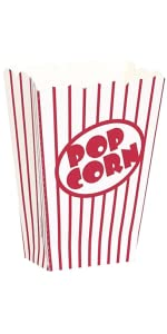 Amazon.com: Small Movie Theater Popcorn Boxes, 8ct: Kitchen & Dining