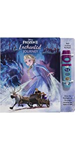 Disney Frozen - Pop-up Sound Book and Flashlight Set