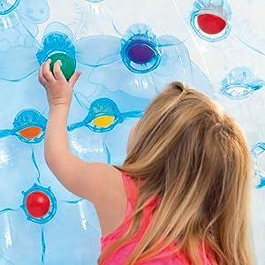 Intex 48670NP - Iglú hinchable Frozen con 12 bolas: Amazon.es ...