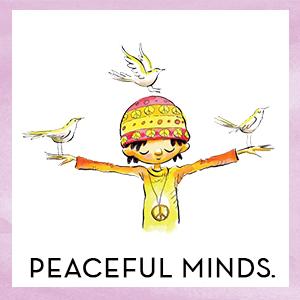 peaceful minds
