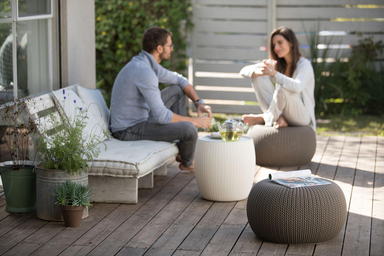 Amazon Com Keter 3 Piece Compact Indoor Outdoor Table Amp 2