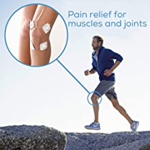pain Relief, electro stim, arnicare gel pain relief, lower back pain, home gadgets, tens unit pads