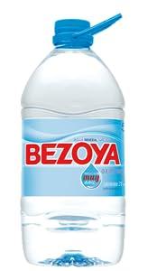 Garrafa de 5L agua mineral natural Bezoya