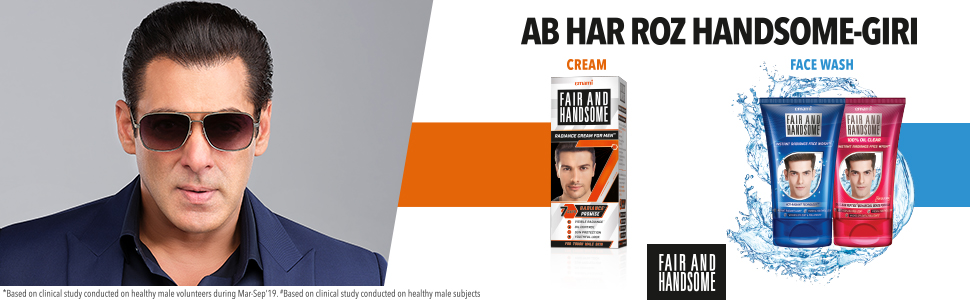 Fair and Handsome Instant Radiance Face Wash 1
