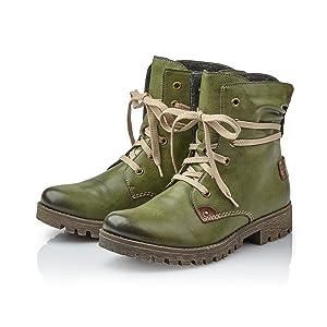d5929fbfe56b Rieker Damen 78530 Kurzschaft Stiefel  Rieker  Amazon.de  Schuhe ...