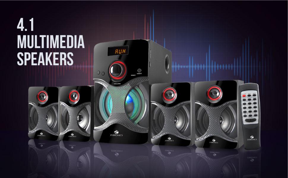 Zebronics Zeb BT4440 4.1 Multimedia Speaker