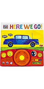 World of Eric Carle, Here we Go Little Steering Wheel Sound Book